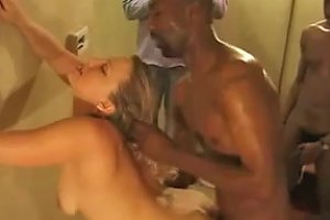 Homemade Video With My Friends Fucking A Blonde Whore's Pussy