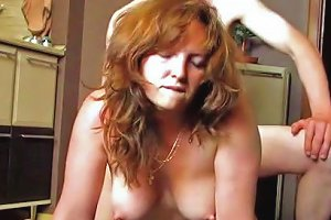 My Homemade Amateur Wife Gets Fucked On The Kitchen's Floor