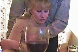 My Homemade Drunk Blonde Gets Caught On Spycam Giving Blowjob