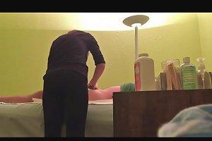 My Homemade Massage Parlor Unexpected Handjob