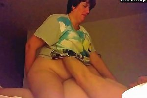 My Homemade Spying Mature Bbw Latina Andrea With Bf