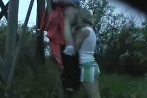 My Homemade Amazing Home Movie With Hot Couple Fucking Outside