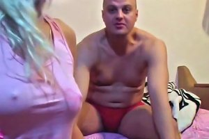 My Homemade Crazy Blond Wanker Shows Her Tits On Cam And Masturbates Ardently