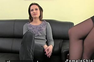 My Homemade Amateur Babe Anal Threesome Casting