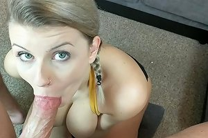 My Homemade Pov Blowjob With Great Eye Contact