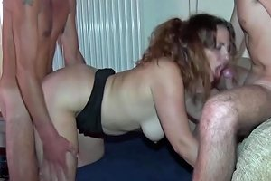 Two Wives In A Real Orgy Anal Dp And An Arm In Pussy